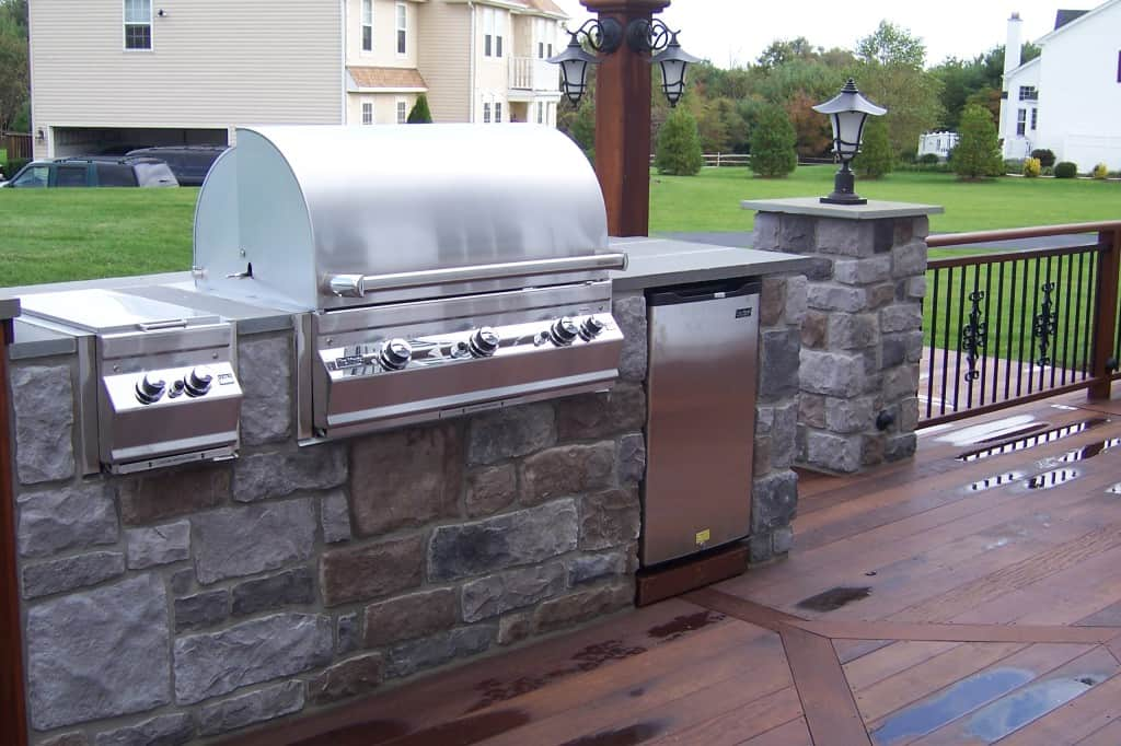 4 Outdoor Kitchen Ideas For 2015 Paul Construction