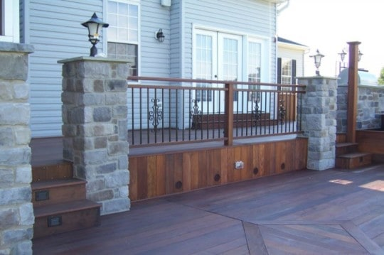 benefits of using trex materials for composite decks