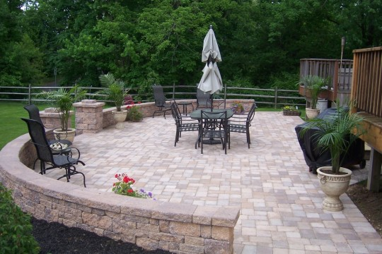 patterns for brick patios