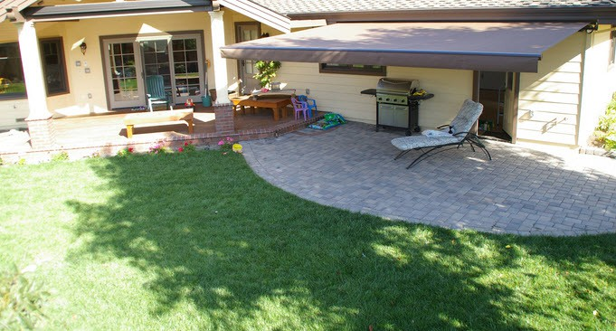 traditional home patio options