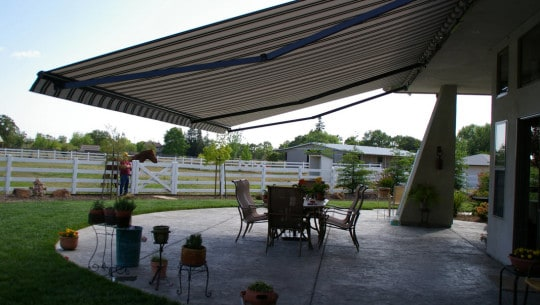 matching your awnings and exterior design