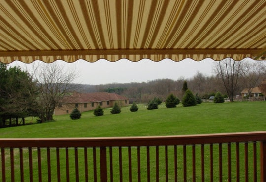 Should I change my awnings with the seasons?