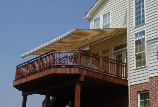 awnings for town homes