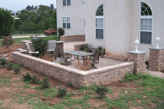 Bucks County patio installation