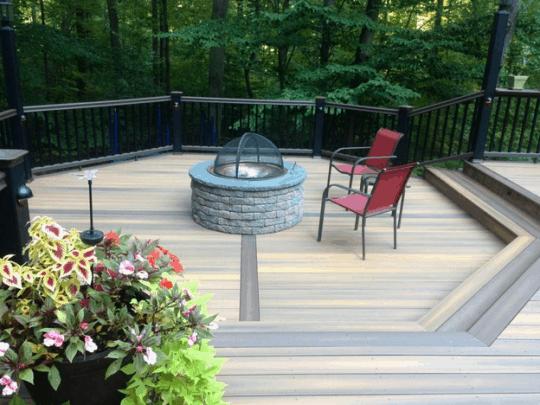 Bucks County Outdoor Living Space