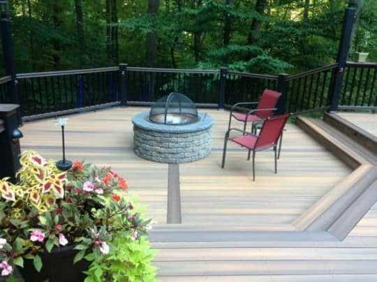 bucks county fire pit installation