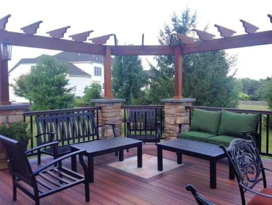 Eagleville deck builder