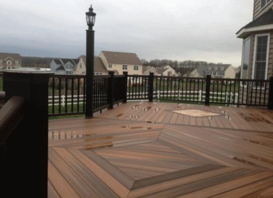 Ambler Deck Builder wood deck