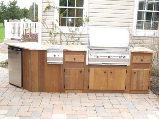 Montgomery County outdoor kitchen