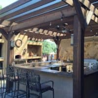 Montgomery County outdoor kitchen