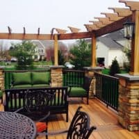 Bucks County Deck and Trellis