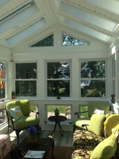 Bucks County sunroom addition