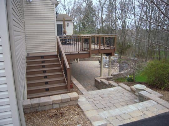 Deck And Stone Patio Combination Experts
