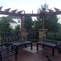 Montgomery County veranda decking
