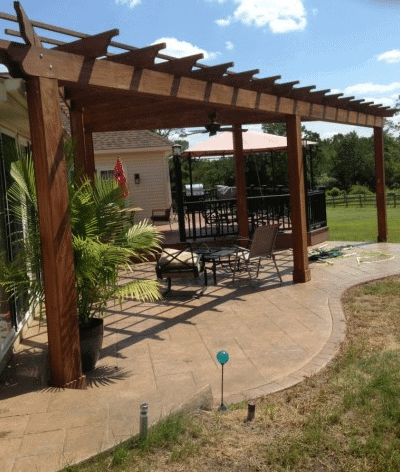 Pennsylvania patio installation