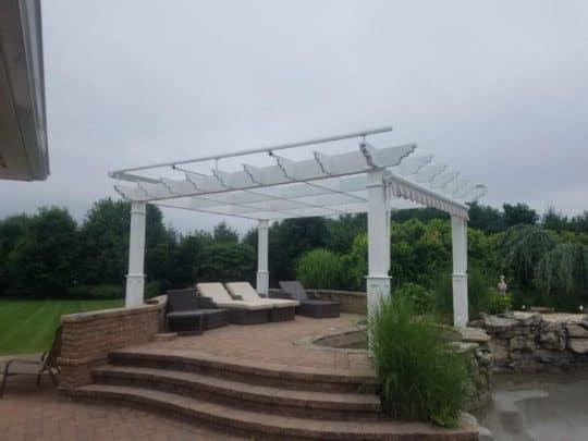 Jamison patio installation
