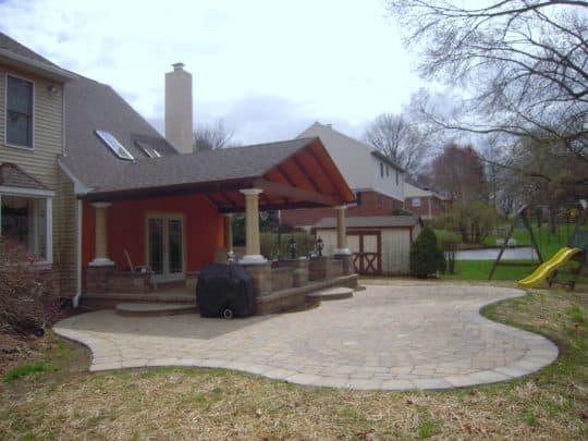 patio installation in Eagleville
