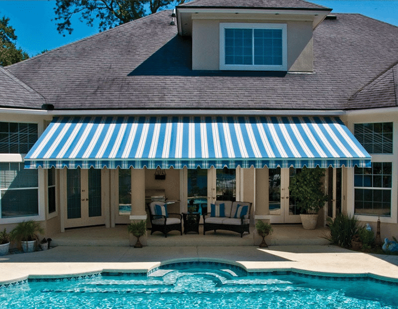 Paul Construction | Canvas Awnings in Camden County