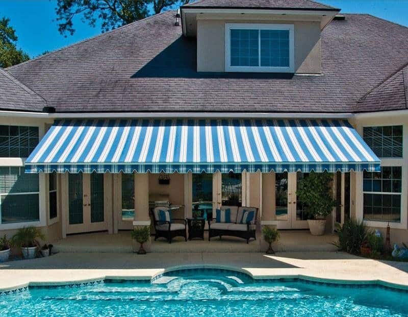 Haddonfield Retractable Awnings | Canvas & Permanent Awnings