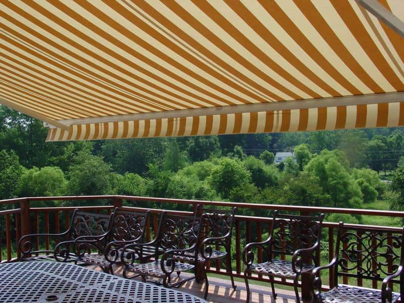 Haddon Township- Retractable Awnings, Canvas Awnings, Permanent