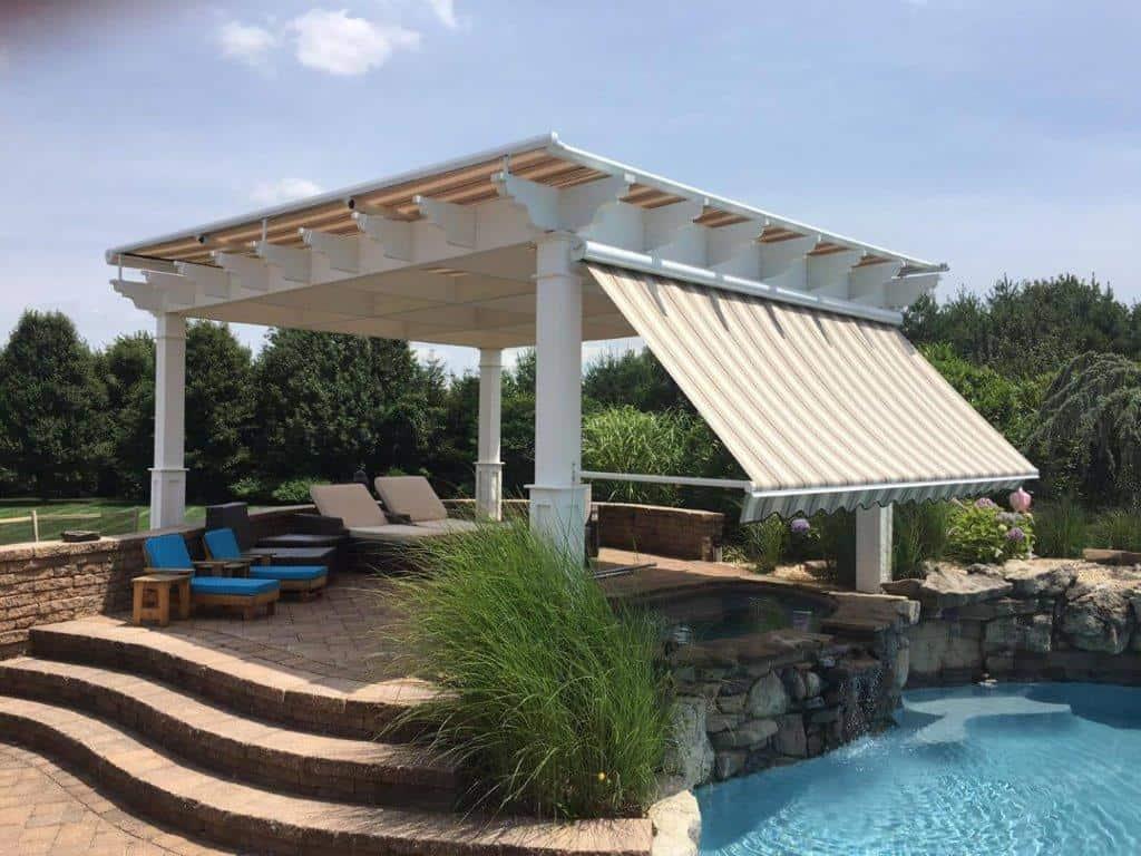 custom patio awning
