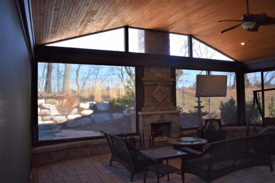 sunroom vs. screened in porch