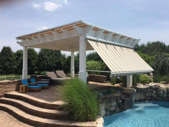 pool awnings