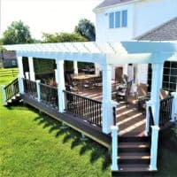 See Our Beautiful, Long-Lasting Wooden Awnings for Patios
