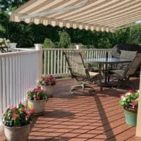 retractable awnings for decks